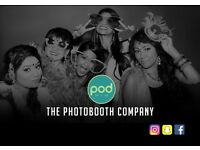 **PHOTO BOOTH Hire Wedding/Prom/Birthday/Mehndi/Engagement Parties PhotoBooth Guestbook Drinks Bar**