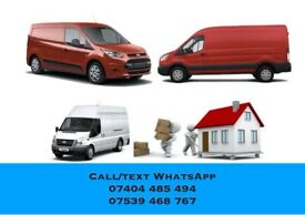 24/7 Luton Van & Man Truck Hire Rent for House Office Moving removals COURIER DELIVERY 2 or 3 MAN