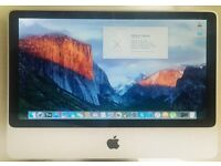 APPLE iMac early 2008, 250GB hard drive, Bargain, in Perfect Condition, El Capitan OS