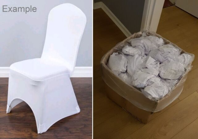 Admirable 100 Wedding Chair Covers White Spandex Lycra Arched Front Used In Telford Shropshire Gumtree Onthecornerstone Fun Painted Chair Ideas Images Onthecornerstoneorg