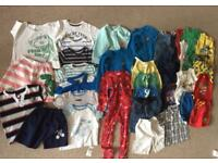 Boys bundle 18-24 months 46 items