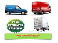 URGENT ANY VAN & MAN HOUSE MOVER OFFICE REMOVAL LUTON TRUCK HIRE WITH 2/3 MEN PIANO SHIFTING MOVING