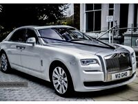 Music Video Hire - Prom Car - Wedding Car Hire - Rolls Royce Hire - Ghost | phantom | limo