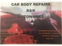 car accident repair, body works,panel beating, car spray !