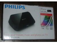 PHILIPS HD 1080P MEDIA PLAYER USB FLASH DRIVE/SD CARD