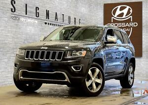 2016 Jeep Grand Cherokee LIMITED NAVI CUIR TOIT MAGS 20P GPS/NAV