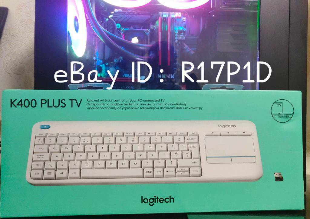 Logitech wireless K400 keyboard  Works with TV, Consoles, Microsoft  Windows, Android and Chrome  | in Washwood Heath, West Midlands | Gumtree
