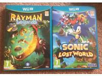 2 Nintendo Wii U games
