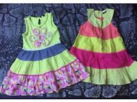 2 x Dresses - Age 4-5