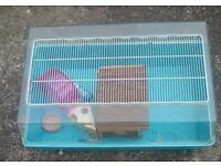 Large duna cage for hamster, rabbit, gerbil, guinea pig, rat etc.