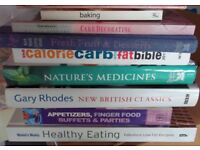 Health and cook books