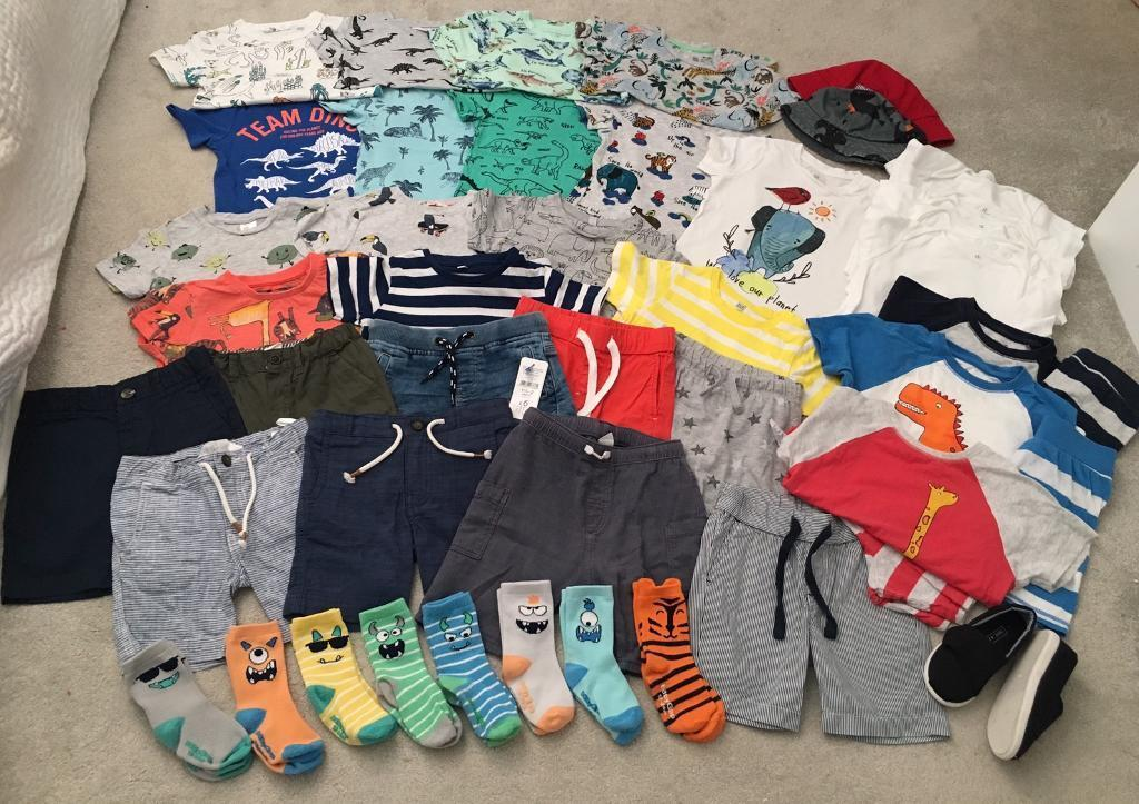 f6704f4ab78 Large bundle of boys summer holiday clothes - 18-24 months