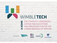 Affordable Co-Working in Wimbletech - The Workary - 24/7 Desk Space from £75 p/m