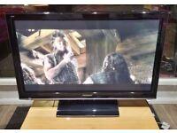"Panasonic 42"" Full HD 1080p Freeview Plasma TV £110"
