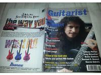 Vintage Guitarist magazine Featuring Kirk Hammett January 1993