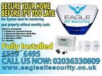 Burglar Alarm SPECIAL £395, 2 YEARS WARRANTY