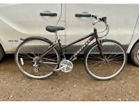"Ladies ridgeback hybrid bike 17"" alloy frame £70"