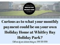 Static Caravan For Sale North East Coast Whitley Bay - Stunning Views