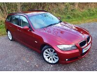 BMW 318D HUGE SPEC,60+MPG,£30TAX, HEATED LEATHER,SATNAV, XENONS,CRUISE CONTROL,LIGHTS PACKAGE,6 CD,