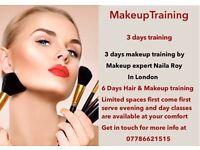 £200 only 3 Days Makeup Training | 6 Days Makeup & Hair Training | 3 Days Hair styling Training