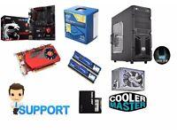 Great Gaming PC , MSI Gaming Z97 , Intel 3.0Ghz , 4+GB Ram , HD 7750/R7 250X SSD Windows 10 Pro