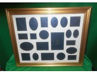 MULTI MOUNT PHOTOGRAPH INSERTS AND FRAME