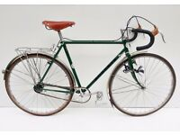 Vintage Chas Roberts bespoke steel 531 touring bicycle
