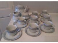 Oriental Tea Set. (19pcs).
