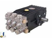 Jet Wash WS202 InterpumpPump Solid Shaft 200 Bar 21 LPM