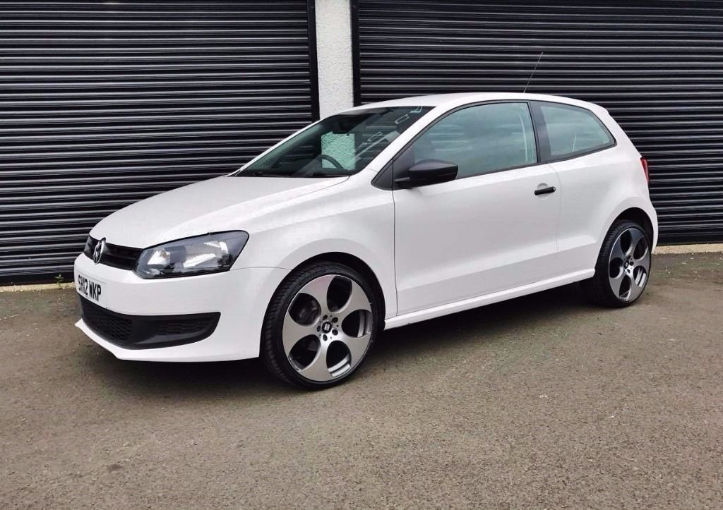 2012 Volkswagen Polo 1 2 S 3 Door White Finance Available In Cullybackey County Antrim Gumtree