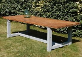 SUPERB Vintage French Handmade Large Three Metre Table From South West France (267 x 100 x 75cm)