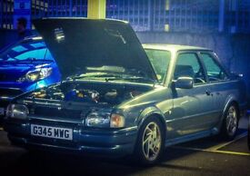 ford escort rs turbo may px car or big bike sensible offers ????