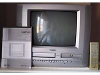 MATSUI 14INCH TELEVISION WITH DVD AND VIDEO FACILITY
