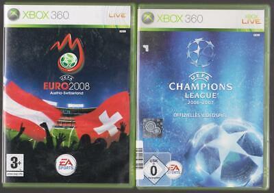 UEFA Euro 2008 08 + Uefa Champions League 2006-2007 Xbox 360 Spiele