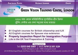 WHITECHAPEL, EAST LONDON, English Language Preparation Centrle for B1, A2, A1 & Life in the UK