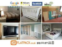 FLATPACK FURNITURE ASSEMBLY - 5 STAR BEST HANDYMAN MANCHESTER! FLAT PACK IKEA TV MOUNTING WIGAN