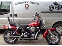 DEPOSIT RECEIVED STUNNING 1994 EVO 1340cc HARLEY DAVIDSON FXDWG DYNA WIDE GLIDE WITH EXTRAS
