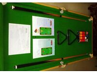 BCE Table Sport Le Club Standing Folding Pool and Snooker Table