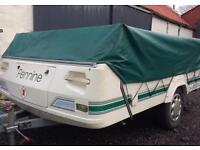 Pennine Folding Camper with Awning
