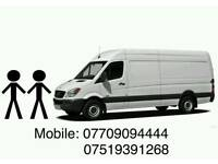 Man and van 24/7 house removals cheap prices from single to full van load
