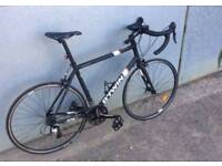 B'Twin Triban 500 Road Bike (inc pannier/bags and spare innertubes)