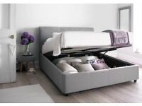 WANTED- King Size Mattress WITH frame AND storage. £200 or less