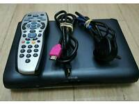 sky HD multi room box complete with remote control hdmi cable and power cable