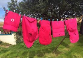 Bugaboo Cameleon 3 Pink Hood, Apron, Liner & Footmuff