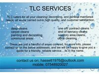 TLC cleaning
