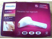 Phillips Lumea ILP Hair regrowth prevention £200.