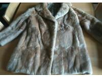 Gorgeous real fur coat, handmade and vintage