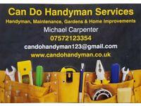 Can Do Handyman Services - Brighton & Hove; Handyman, Maintenance, Gardens & Home Improvements