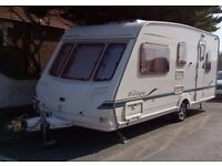Sterling Europa 500 2002 single-axle touring caravan - 5 berth good condition