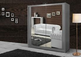 FAST DELIVERY CASH ON DELIVERY BRANDED CHICAGO WARDROBE - BROWN BLACK WHITE COLOUR